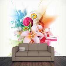 modern floral design wall mural majestic wall art modern floral design wall mural