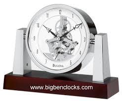desk clock bulova desk clock b7520 largo