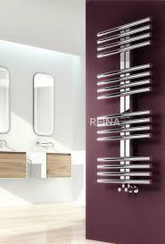 the sorento stainless steel designer heated towel rail the