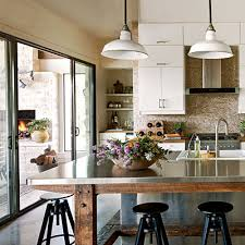 stainless steel islands kitchen the island check out what s right outside the door