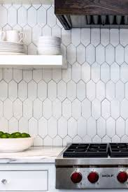 Tile Backsplashes For Kitchens Best 25 White Tile Backsplash Ideas On Pinterest Subway Tile