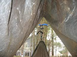 the hammock hut a easy to make hammock rain fly 4 steps with