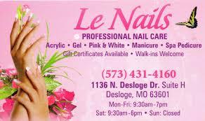 nail salon review july 2012