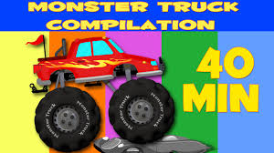 monster truck kids videos monster truck stunts compilation kids videos youtube