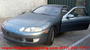 lexus sc300 parts diagram lexus sc 400 1993 car for parts youtube