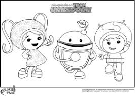 team umizoomi coloring pages coloring
