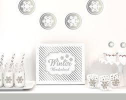 Winter Wonderland Wedding Theme Decorations - winter wedding decor etsy