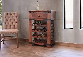 international furniture direct parota wine rack dunk u0026 bright