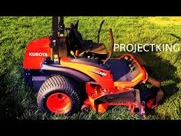 zero turn mower power house kubota zd326 youtube