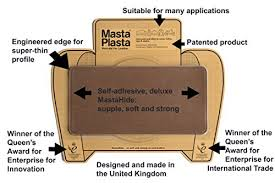self adhesive leather patch new colour mid brown mastaplasta self adhesive leather repair