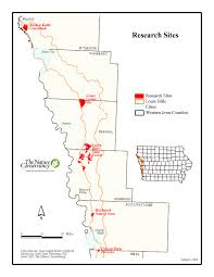 Map Of Iowa State University by Response Of Native Species To Prairie Restoration