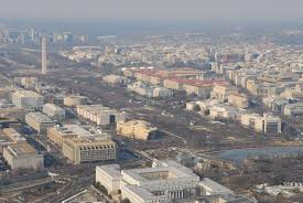 here are the official photos showing trump u0027s inauguration crowds
