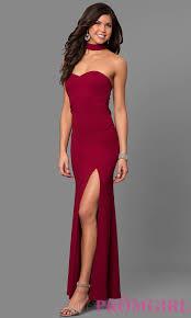 junior size merlot red long prom dress promgirl