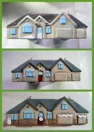 new home ornaments customized polymer clay apoxie sculpt