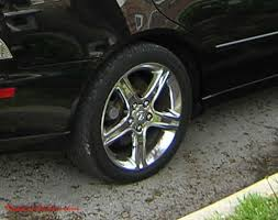 2001 lexus is300 wheels chrome wheels polished aluminum spinners wire wheels factory rims