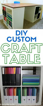 diy craft table ikea how to make a custom craft table the crafty blog stalker