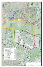 Ohio University Campus Map by Collegial Woods Park Trails
