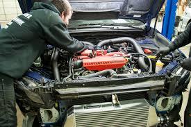 saabaru engine fatfab subaru front mount intercooler install fathouse fab