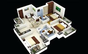 House Plans And Designs For 3 Bedrooms 3d 3 Bedroom House Plans Tagged Modern House Plans 3 Bedroom House