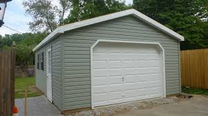 Barn Style Garage by 1 Car Garages The Barn Raiser