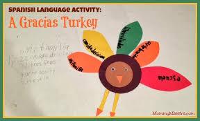 maestra language activity gracias turkey
