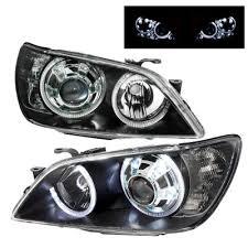 2003 lexus is300 headlights lexus is300 2001 2005 black projector headlights dual halo led