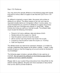 ideas collection reference letter for immigration marriage with