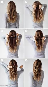 weekly hairstyle tie a knot christina dueholm hair style