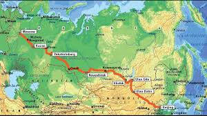 Siberia On World Map by Food And Culture Along The Trans Siberian Railway By Allegra