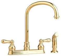 Polished Brass Kitchen Faucets by Kingston Brass Ks7792albs English Country Kitchen Faucet With