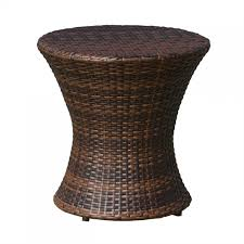 wicker side table with glass top 40 best collection of round rattan coffee table with glass top wayfair