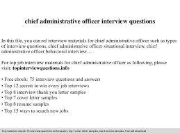 chief administrator resume professional chief administrative