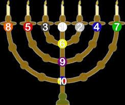 menorah tree of the menorah and the tree of