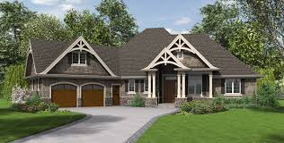beam x front of house mascord house plan 1248 the ripley