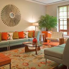 orange livingroom lofty orange living room design 15 lively ideas on home homes abc