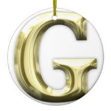 alphabet letter g ornaments keepsake ornaments zazzle