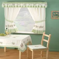 Green And White Kitchen Curtains Kitchen Amusing Bed Bath And Beyond Kitchen Curtains 36 Inch