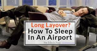 How To Sleep Comfortably On The Floor Long Layover How To Sleep At An Airport Like A Pro