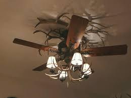 Deer Antler Ceiling Fan Light Kit Another Antler Ceiling Fan Cabin Decor Pinterest Ceiling Fan