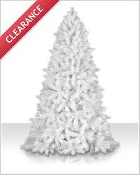 4 foot white tree decor