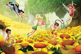 disney fairies wallpaper wall murals photowall co uk wall mural fairies flowers