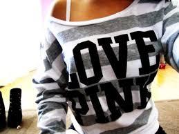 secret pink sweater sweater s secret crewneck stripes striped sw striped
