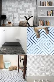 The Handmade Home by 2016 Year Of The Handmade Black White Cement Tile