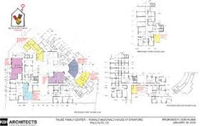 rmhs taube family center renovation plans by ronald mcdonald house