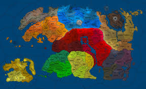 Elder Scrolls Map The Elder Scrolls 3 142 Risk By Amcalmaron On Deviantart