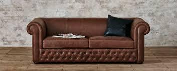 Leather Sofa Obel Leather Sofa Hand Tufted Leather Sofa Sixpenny Com