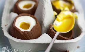filled easter eggs better than cadbury eggs cheesecake filled chocolate easter