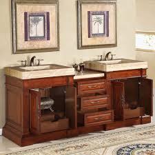 Amazon Bathroom Furniture by Amazon Com Silkroad Exclusive Travertine Integral Sink Bathroom