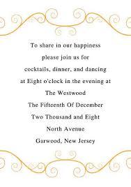 Wedding Reception Card Wording Orange Border Wedding Invitation Inw014 Inw014 0 00