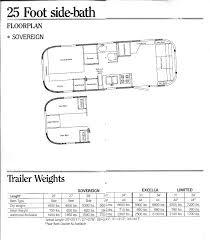 Airstream Trailer Floor Plans 1985 Brochure Airstream Forums